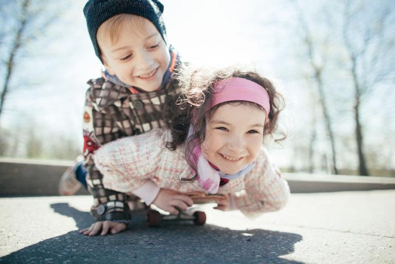 Unfall-Vorsorge für Kinder